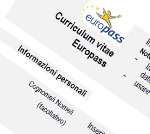curriculum europass