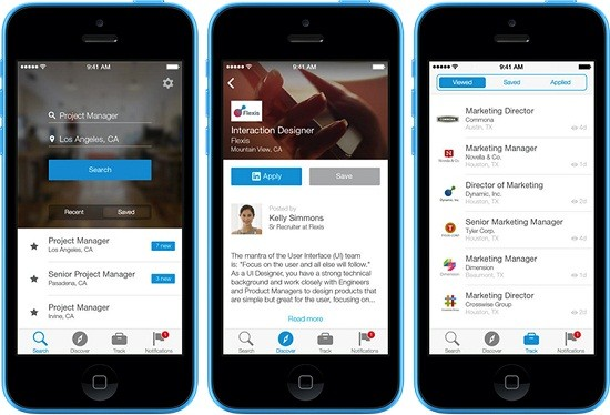 App Linkedin Job Search